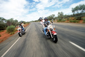 Austràlia en moto, photo courtesy of Tourism Australia